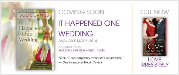Julie James is emphasising her forthcoming book right now, because it's out shortly.