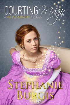 Cover for Courting Magic.