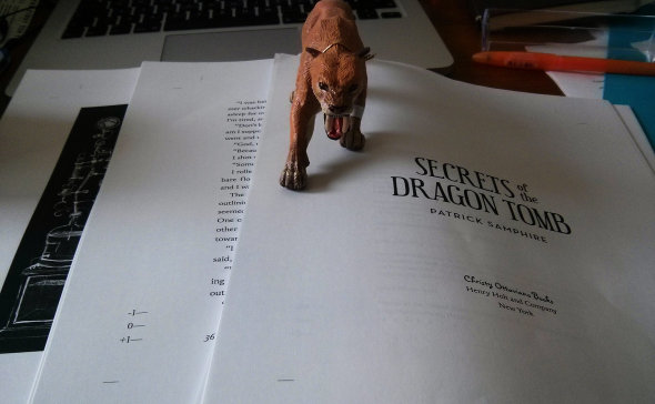 Secrets of the Dragon Tomb First Pass Pages