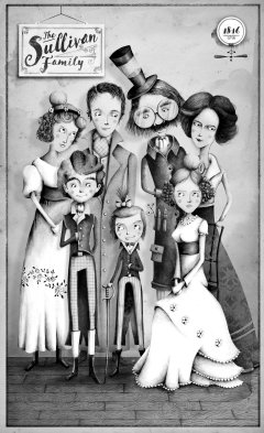 The Sullivan Family (art by Jeremy Holmes)