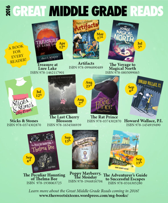 New MG Books