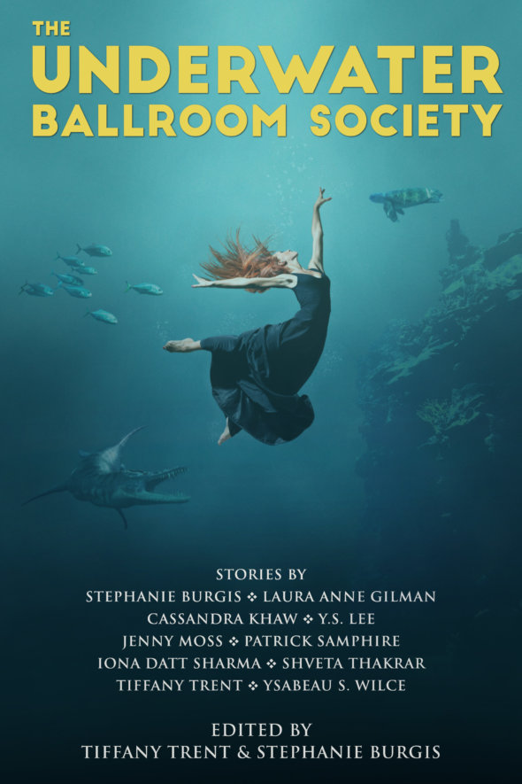 Cover for the anthology, The Underwater Ballroom Society.